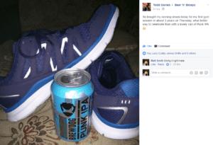 running shoes, punk ipa, beer n biceps, beernbiceps, podcast, choosing a gym