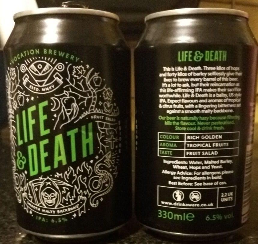 life and death, doms, delayed onset muscle soreness, beer n biceps, beernbiceps, vocation brewery