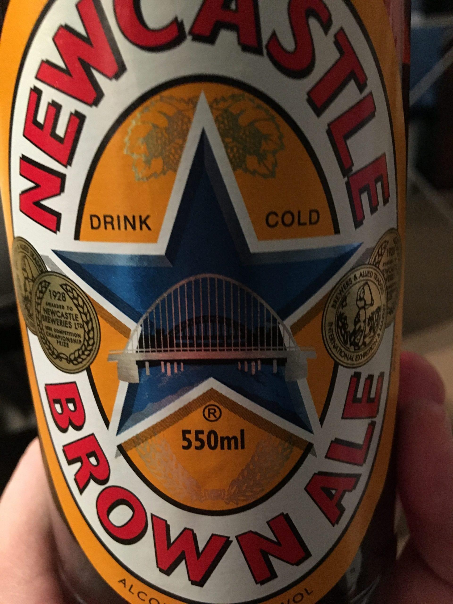 brand new beer n biceps podcast, newcastle brown ale