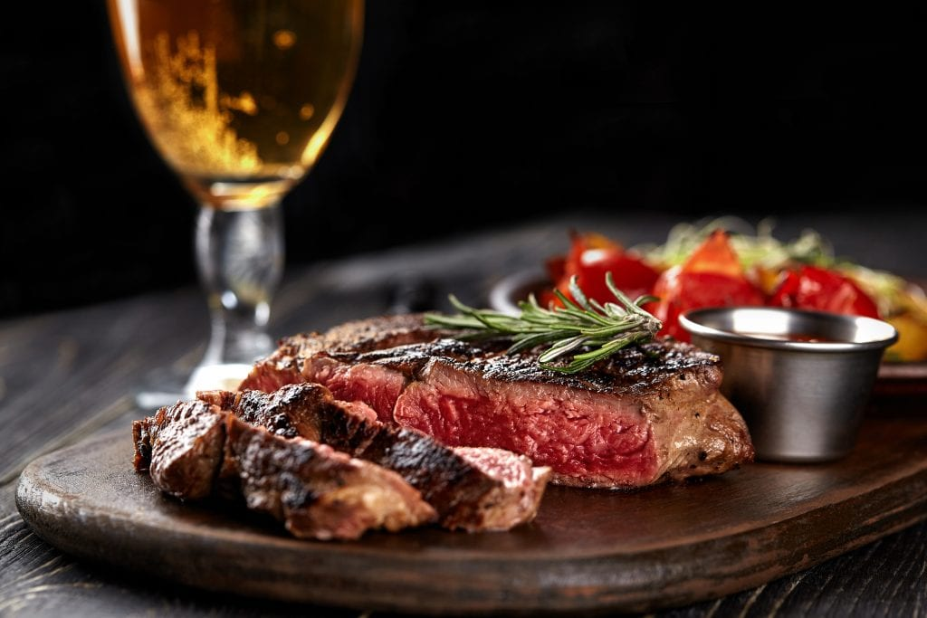 what beer goes with steak