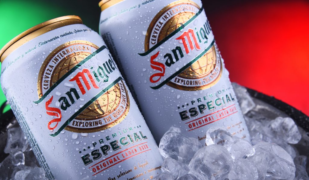 How many calories in San Miguel