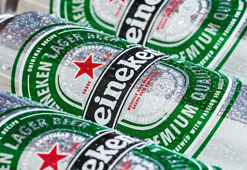 How many calories are there in a pint of Heineken