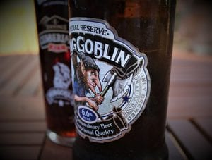 How many calories are there in a pint of hobgoblin