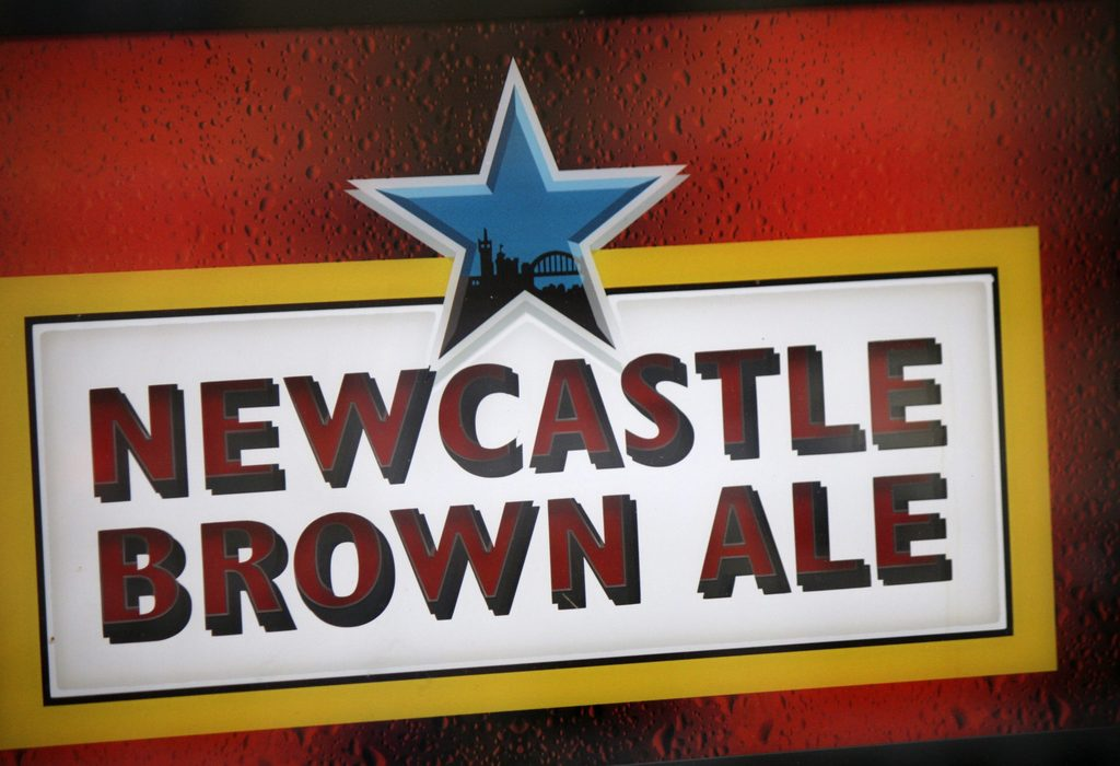 How many calories are there in a pint of Newcastle Brown Ale