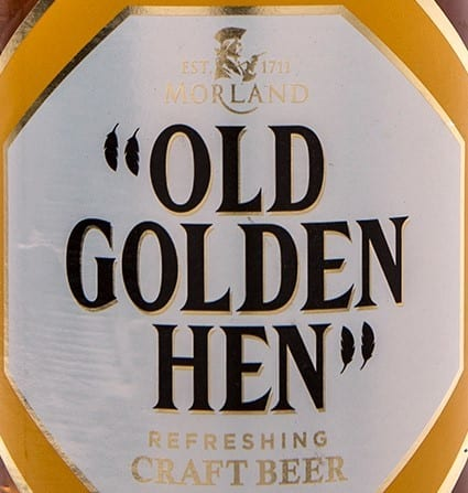 How many calories are there in Old Golden Hen