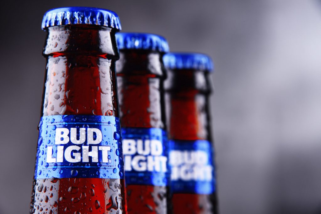 How many calories are there in Bud Light