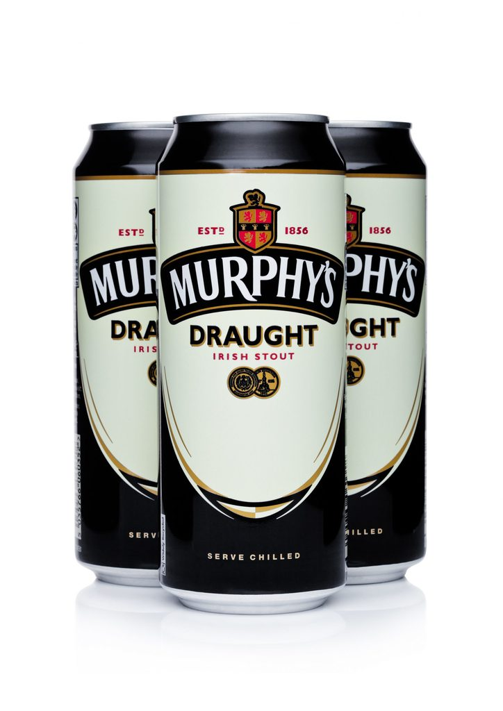 How many calories are there in a pint of Murphy's stout