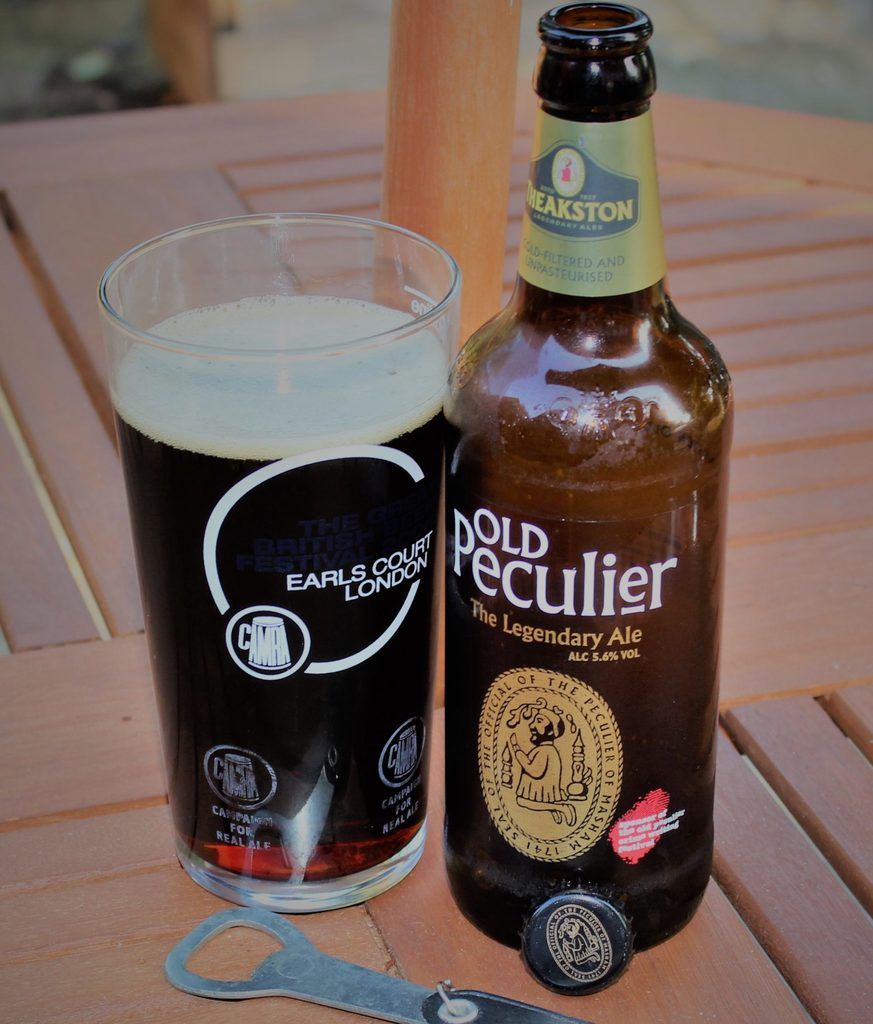 How many calories are there in a pint of Old Peculier