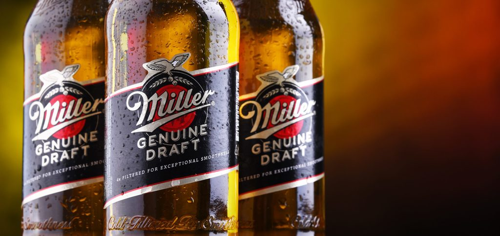 How many calories are there in Miller Genuine Draft