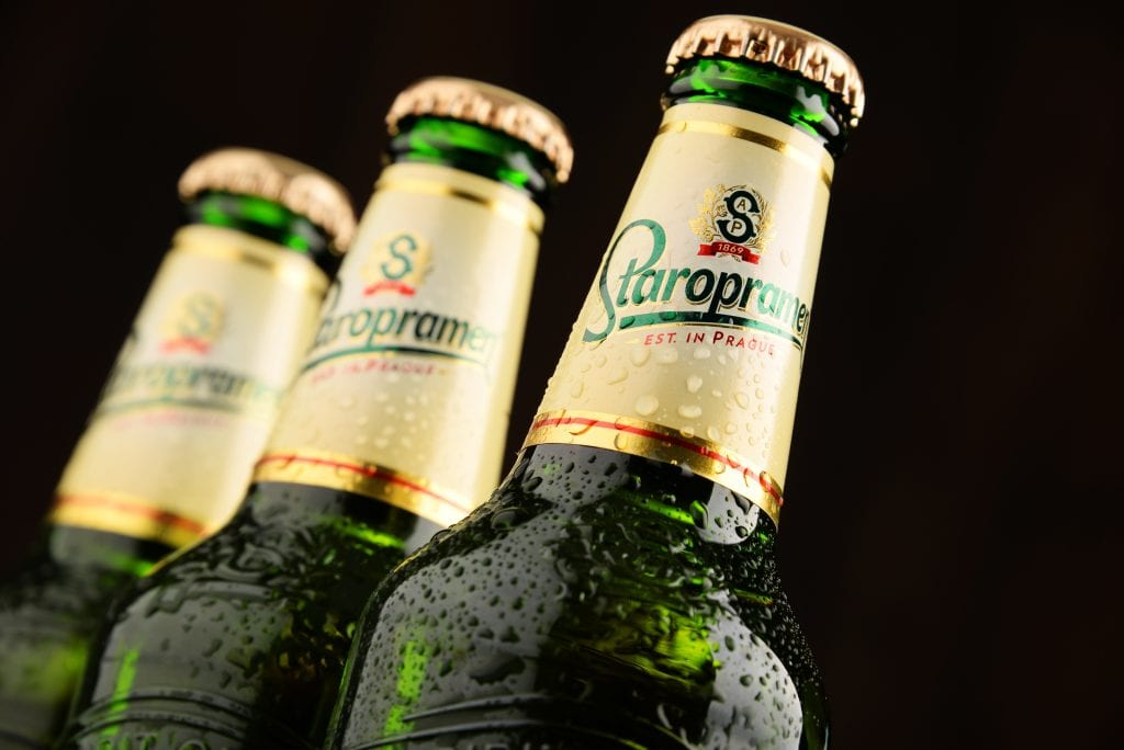 How many calories are there in Staropramen