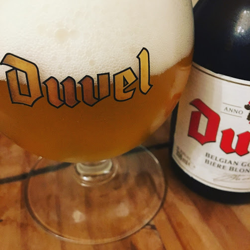 How many calories are there in Duvel