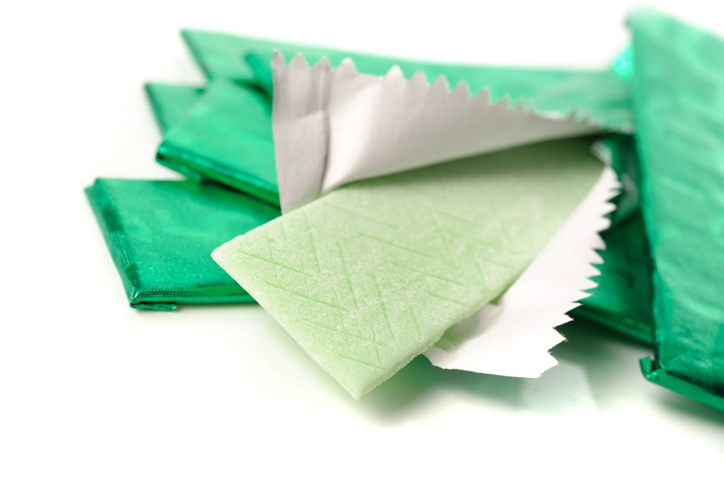 is chewing gum good for bodybuilding