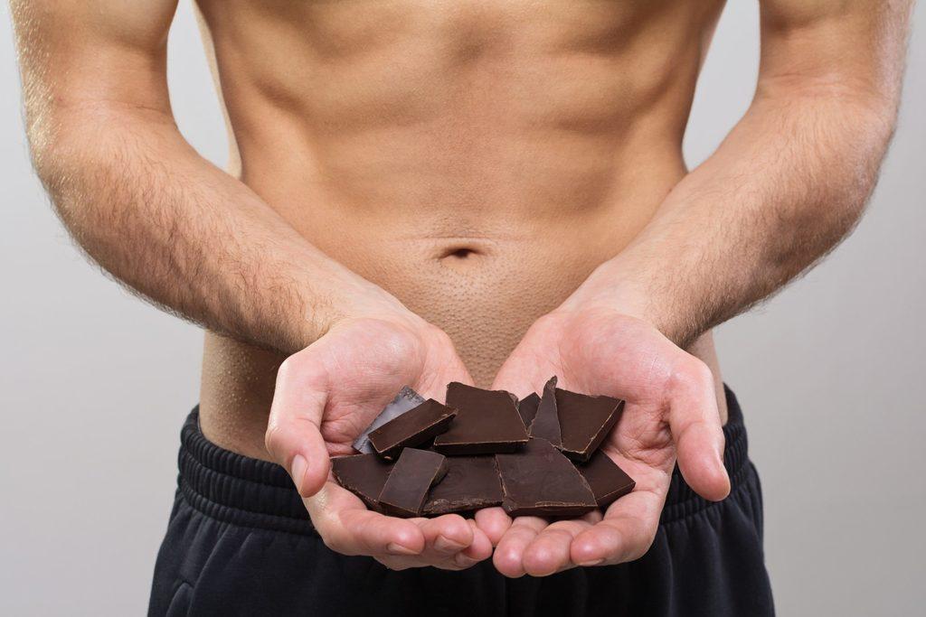 Do Bodybuilders eat chocolate